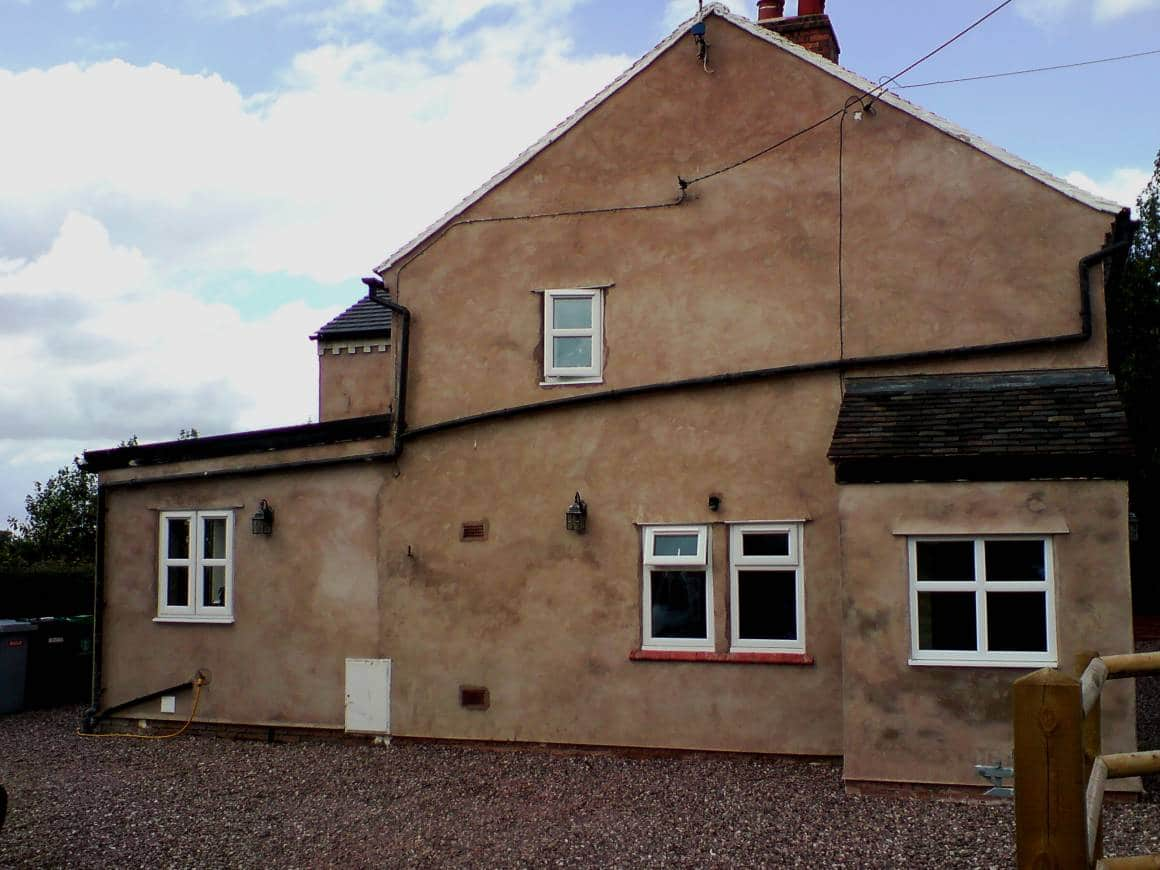 BEFORE: Paint House Exterior, Audlem