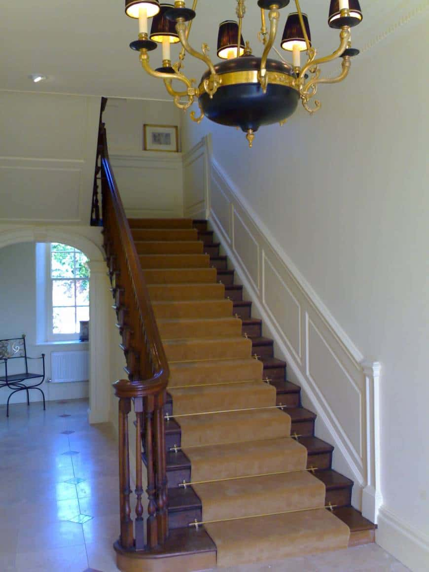 BEFORE: Decorate Hall Stairs and Landing