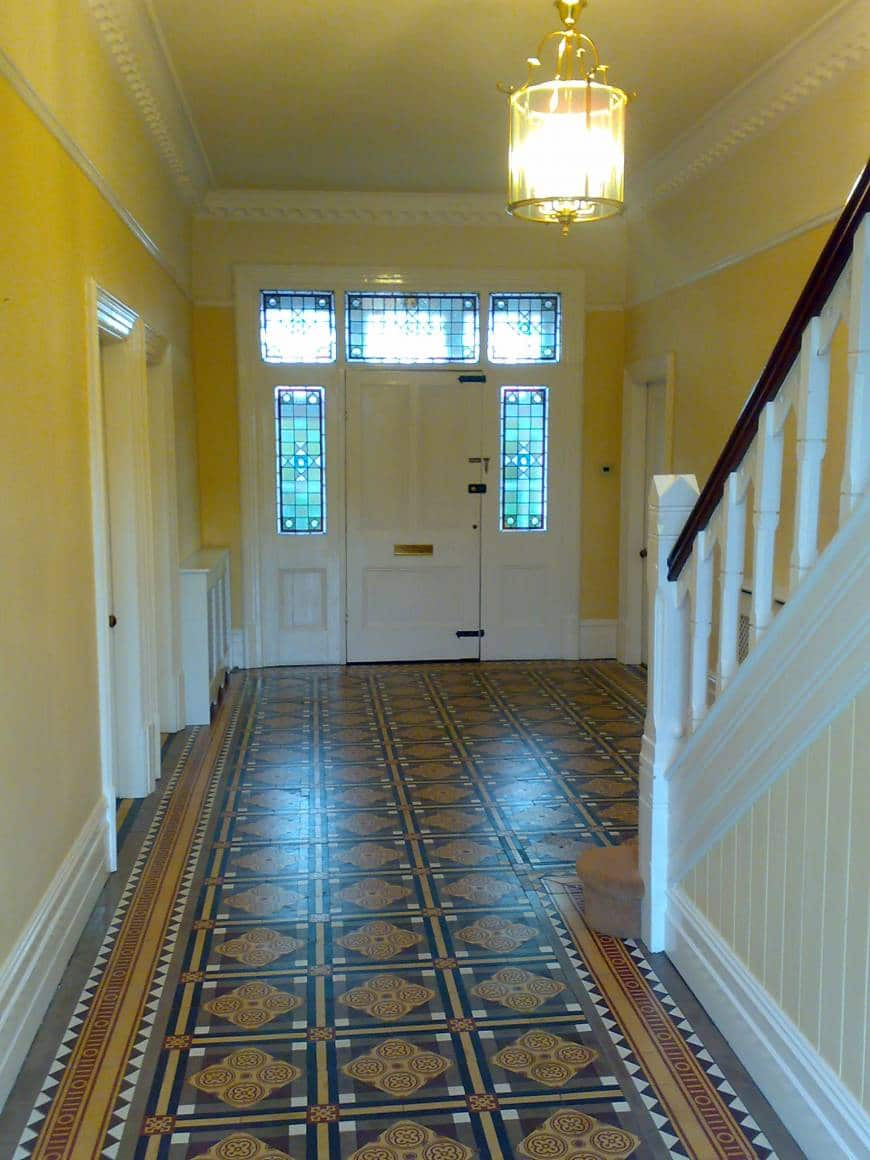 AFTER: Decorate Hall Stairs and Landing