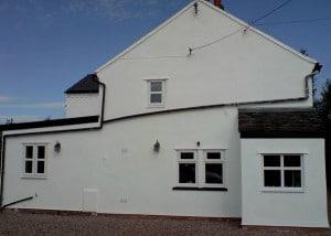 AFTER: Paint House Exterior, Audlem