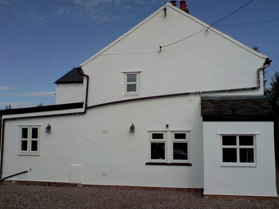 AFTER: Paint House Exterior, Audlem