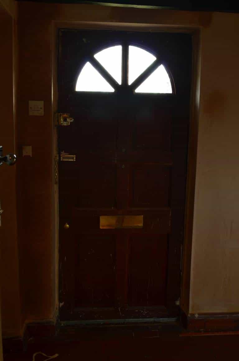 BEFORE: Paint Front Door