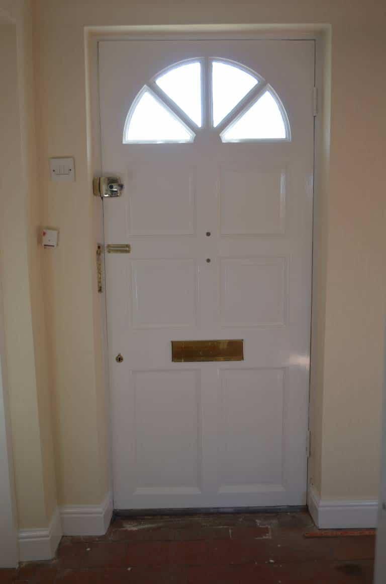 AFTER: Paint Front Door