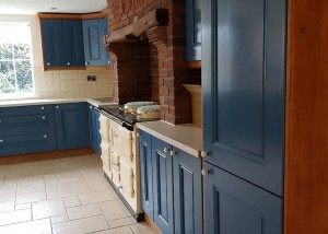 AFTER: Paint Kitchen Units